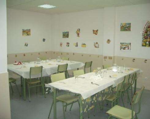 Comedor for Mesas comedor colegio